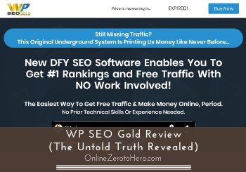 WP SEO Gold Review (The Untold Truth Revealed)