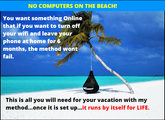 20 minute setup machine earn even on beach