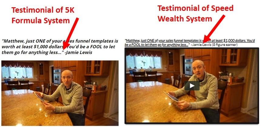 5k formula system testimonial
