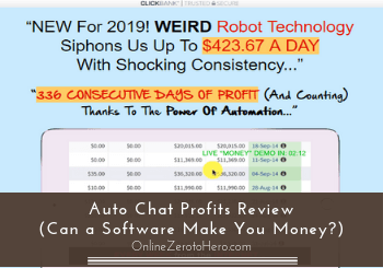 auto chat profits review header