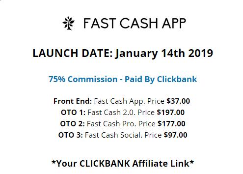 fast cash app upsells