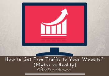 how to get free traffic to your website header