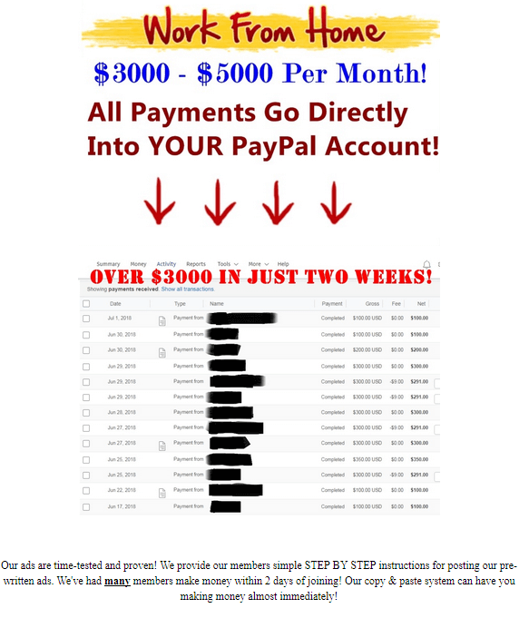 income claim on instant cash solution