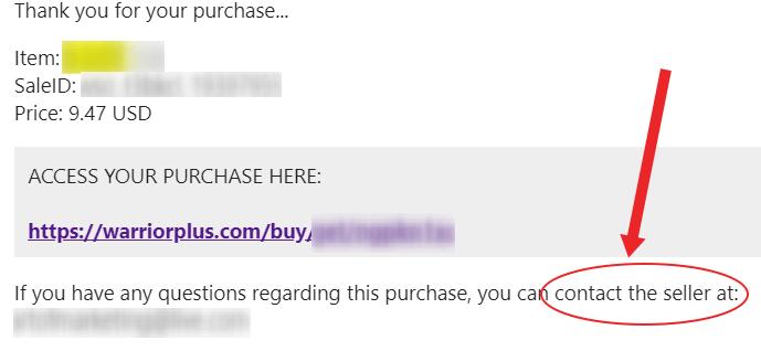 request refund on warriorplus