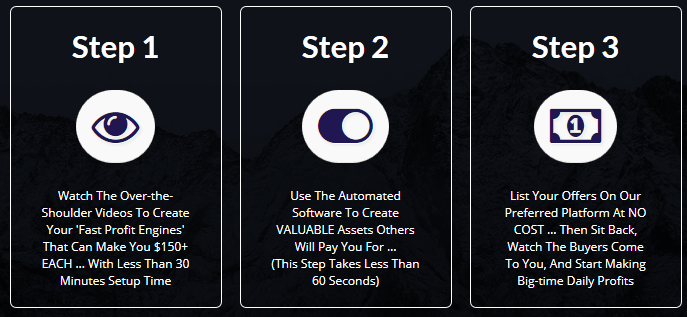 steps profiteer