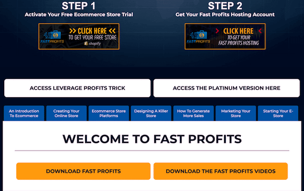 upsell fast profits online