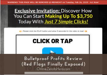 bulletproof profits review header