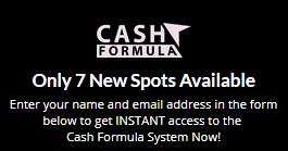 cash formula scarcity tactic