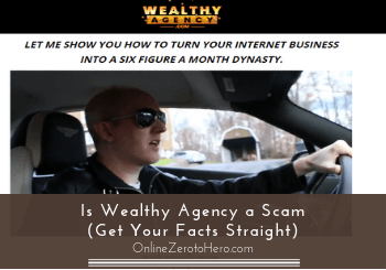 is wealthy agency a scam header