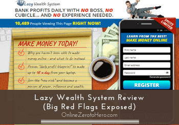lazy wealth system review header