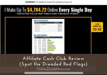 affiliate cash club review header