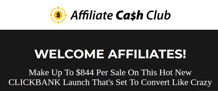 affiliate commission income affiliate cash club
