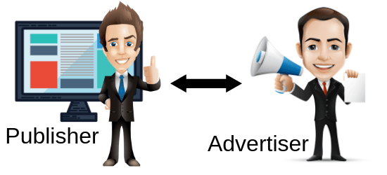 difference between publisher and advertiser