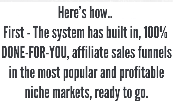 done for you system 12 minute affiliate