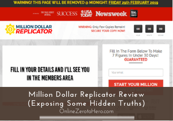 million dollar replicator review header