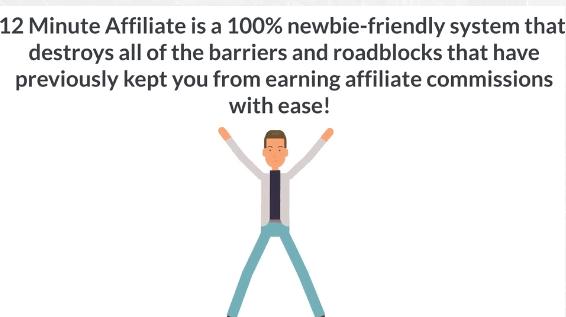 newbie friendly 12 minute affiliate