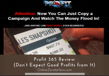 Profit 365 Review (Don't Expect Good Profits from It)