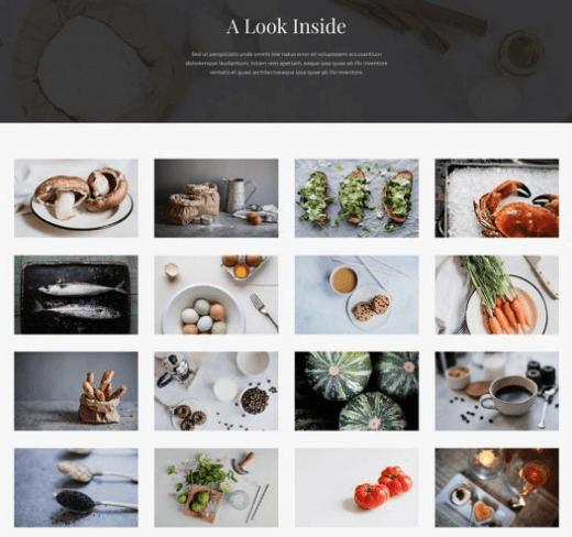 restaurant website preview2