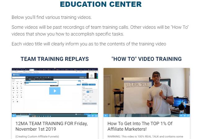 12 minute affiliate education center