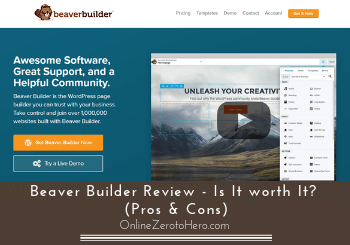 Beaver Builder Review – Is It Worth It? (Pros & Cons)