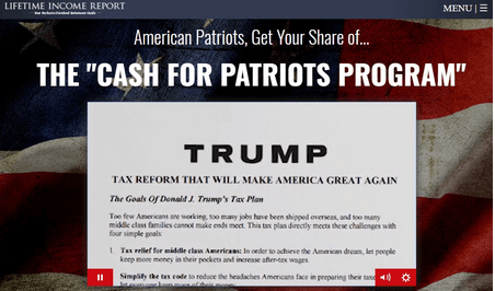 cash for patriots trump tax reform