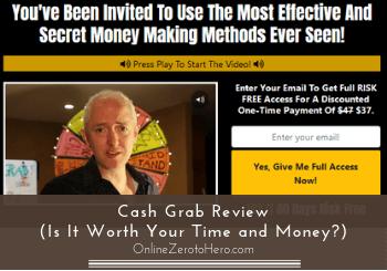cash grab review header