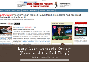 easy cash concepts review header