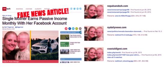 fake news article fb dollars