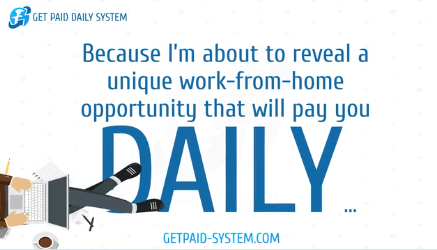 get paid daily system daily income