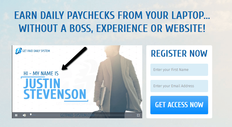 get paid daily system justin stevenson