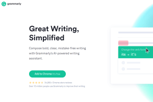 grammarly recommended tool