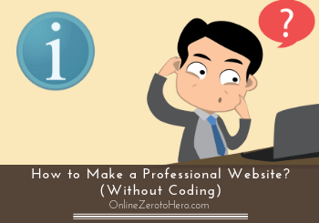 how to make a professional website header