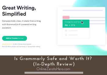 Grammarly Login Page