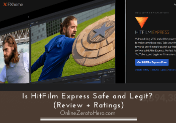 Is HitFilm Express Safe and Legit? (Review + Ratings)