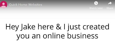jake creator quick home websites