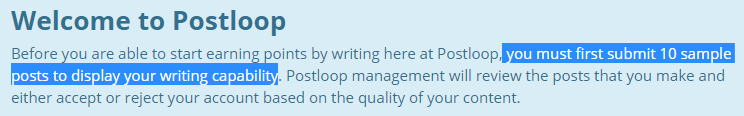postloop writer test demand