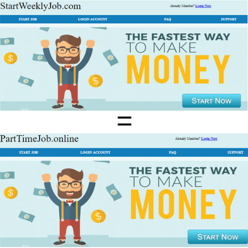 startweeklyjob compared to partyimejob online