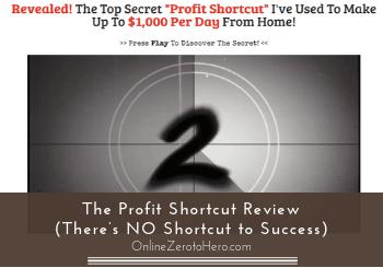 the profit shortcut review header