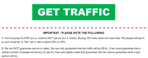traffic terms on 12 minute affiliate