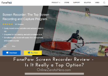 fonepaw screen recorder review header