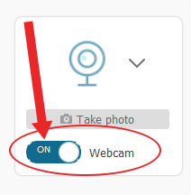fonepaw webcam option