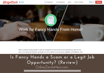 is fancy hands a scam review header