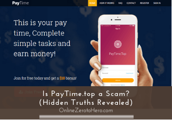 is paytime top a scam header