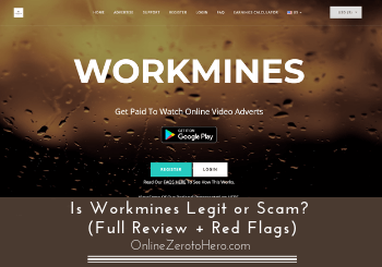 Is Workmines Legit or Scam? (Full Review + Red Flags)