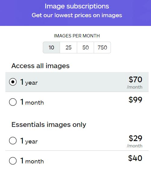 istockphoto subscriptions