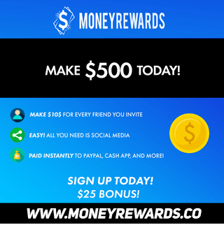 money rewards 500 a day claim