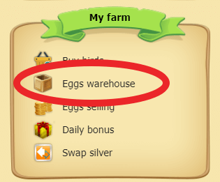 where to find eggs warehouse on golden farmbiz