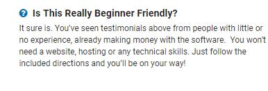 affilixpro beginner friendly