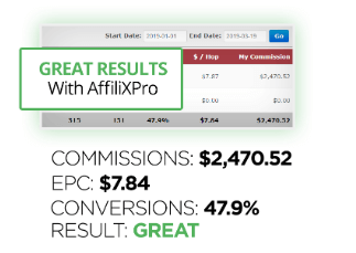affilixpro income claims