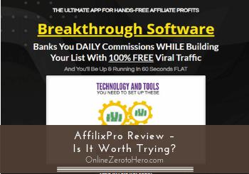 affilixpro review header